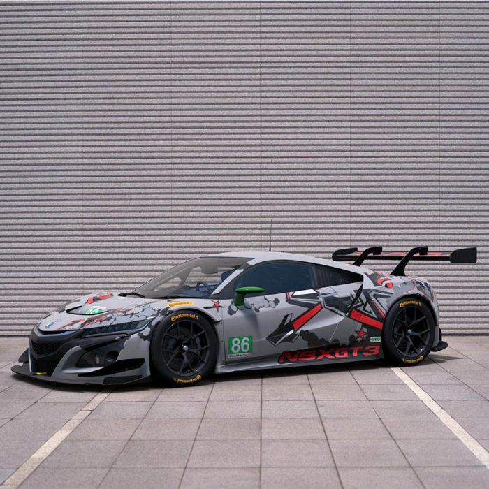 Michael Shank Racing / Acura NSX GT3 Livery Design